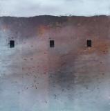Refuge 2009, 102 x 102cm