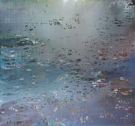 Monsoon 2014, 81x81cm